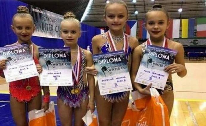 Вінницькі гімнастки привезли найвищі нагороди з міжнародного конкурсу