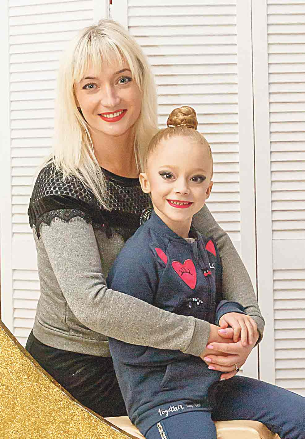Наталя Заболотна: «Наполегливість донька отримала від мене у спадок разом з генами!»